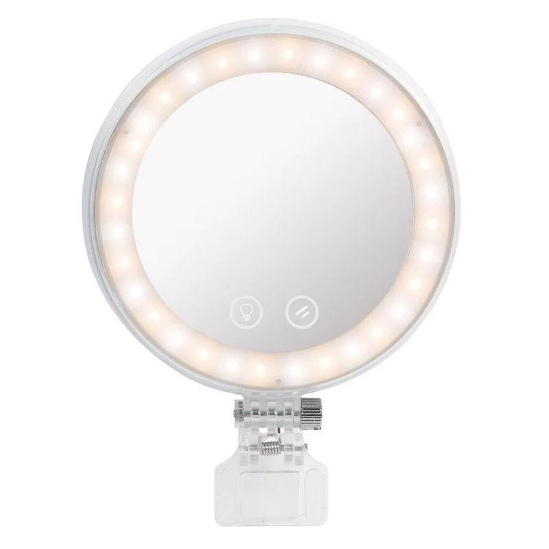 Yongnuo YN08Li anel lâmpada LED rosa