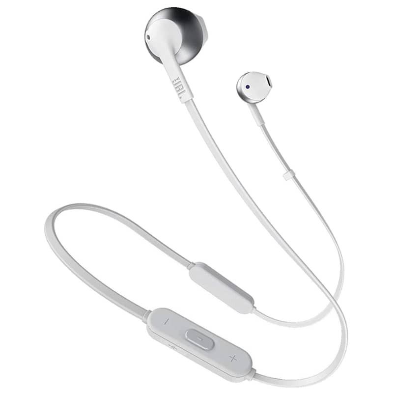 JBL Tune 205BT Bluetooth 4.1 Prateado - Auriculares In-Ear