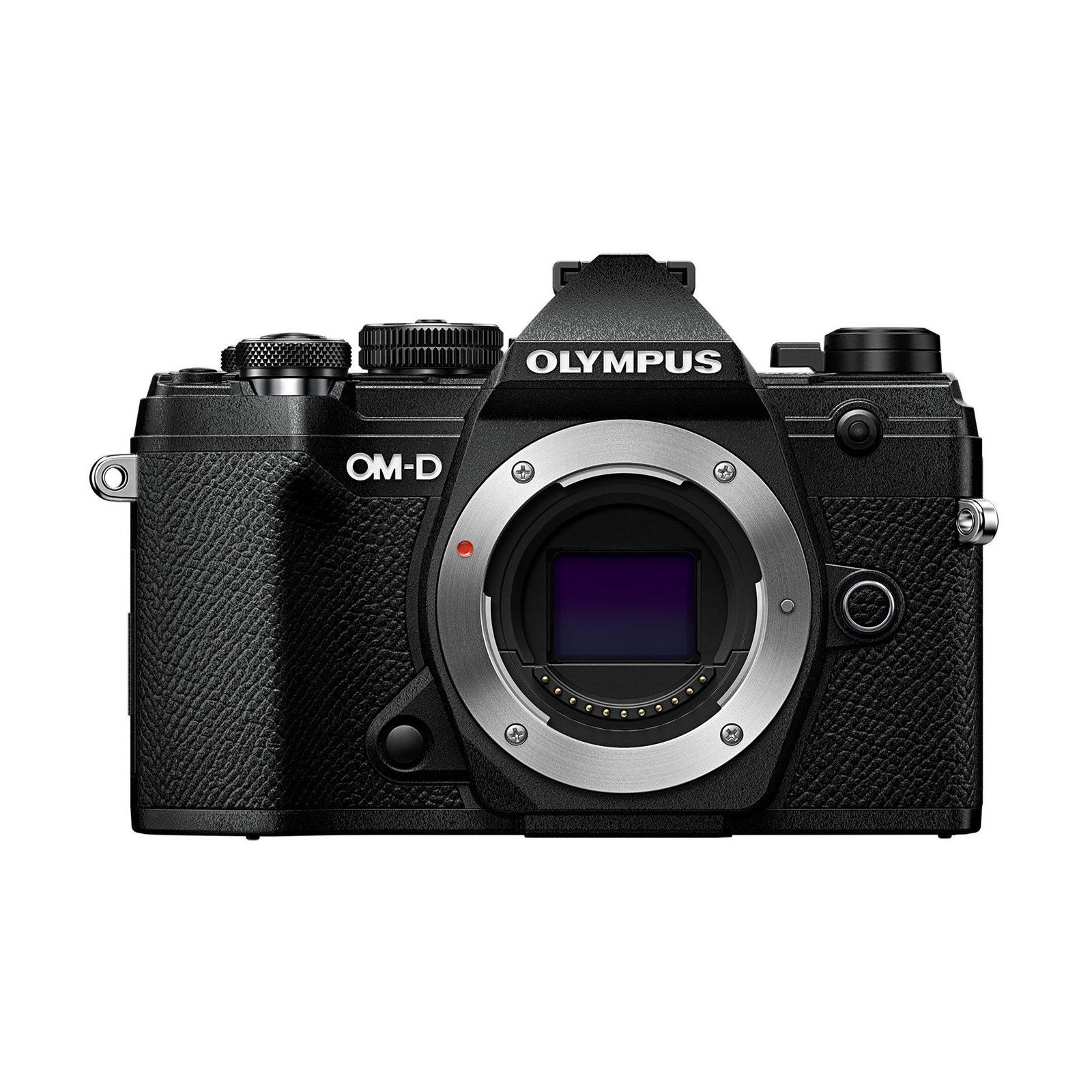Olympus OM-D E-M5 Mark III Corpo Preto