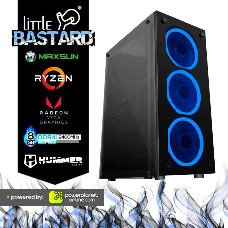 PC Gaming Ryzen 3 3200G/8GB/120GB SSD Little Bastard