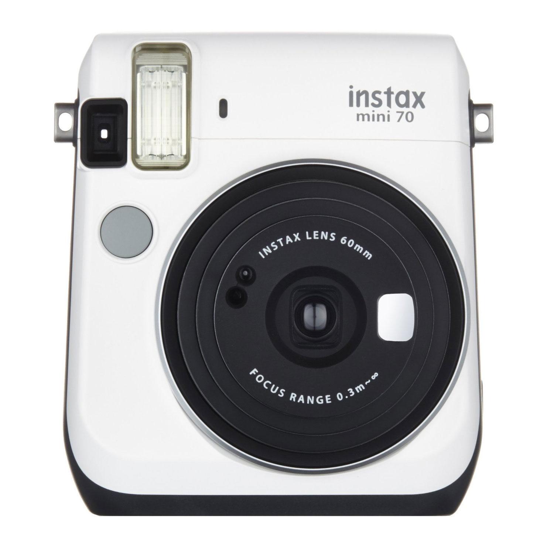 Fujifilm Instax Mini 70 Moon White instant camera