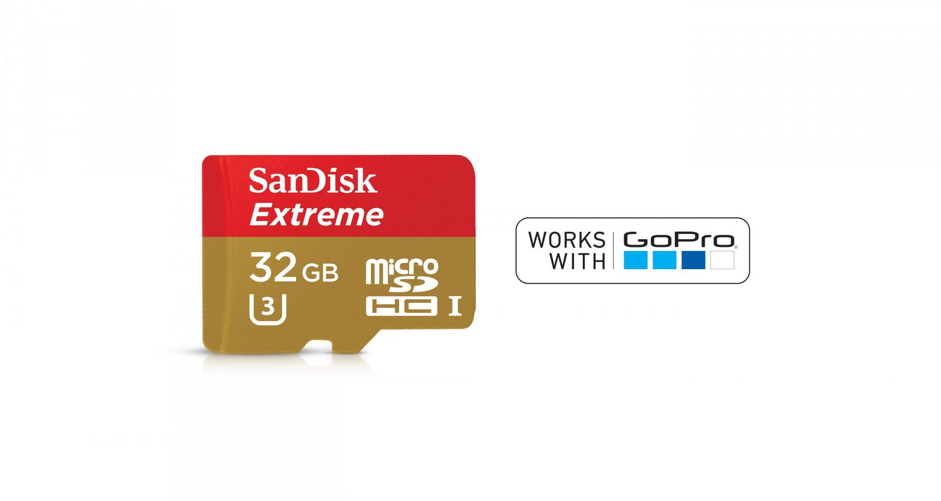 MicroSDHC de 32 GB SanDisk Extreme + adaptador
