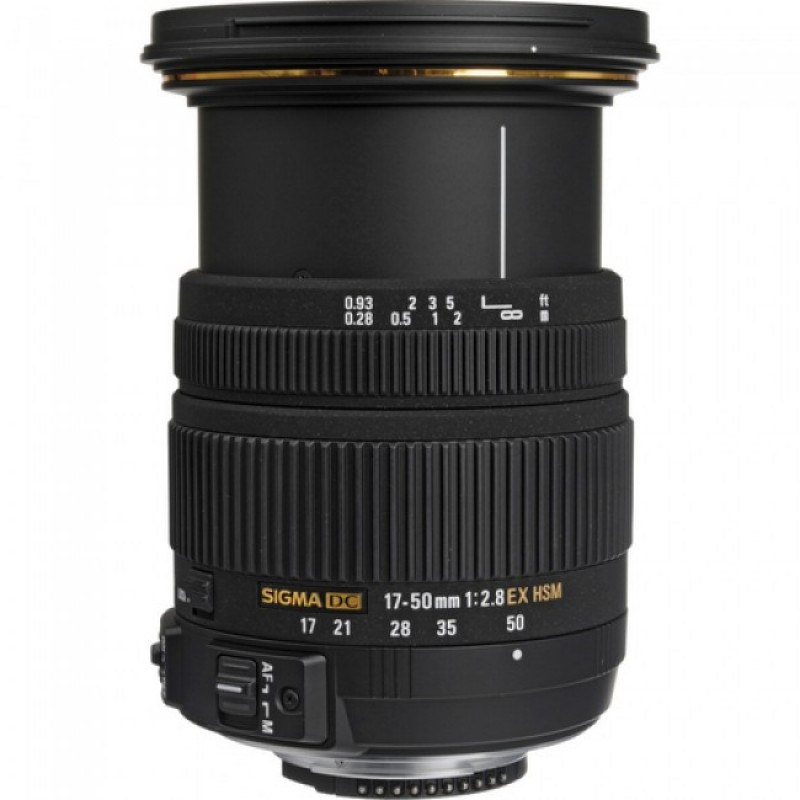 Sigma EX 17-50mm f/2.8 DC OS HSM
