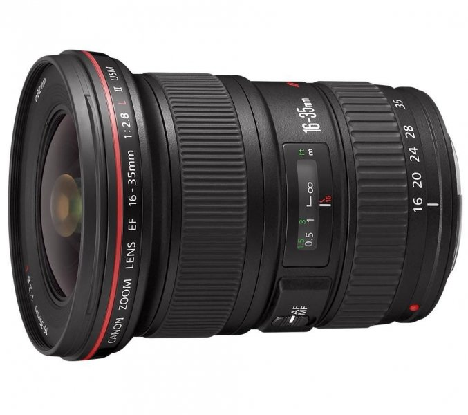 CANON OBJECTIVA 16-35 MM F/2,8 L II USM