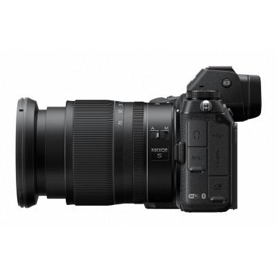 Câmera Nikon Z7 sem espelho + adaptador 24-70mm f / 4.0 + FTZ