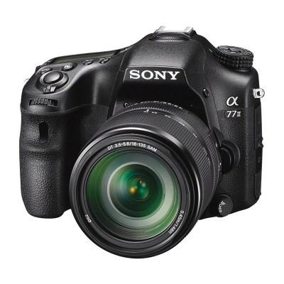 Sony Alpha SLT A77 II DSLR + 18-135mm