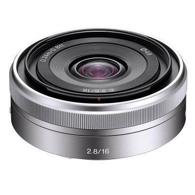 Sony E 16mm f/2.8 objectief (SEL16F28.AE)
