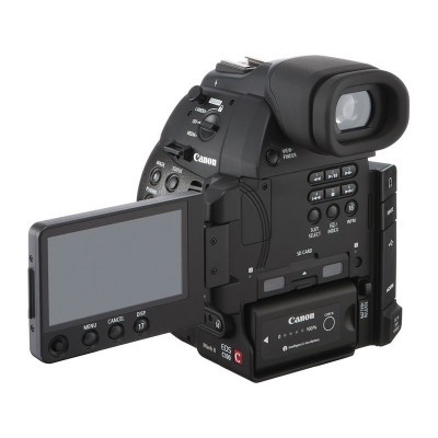 Câmera de vídeo Canon EOS C100 Mark II