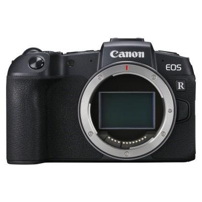 Canon EOS RP + EF-adapter