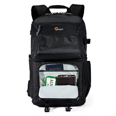Mochila Lowepro Fastpack BP 250 AW II Preta