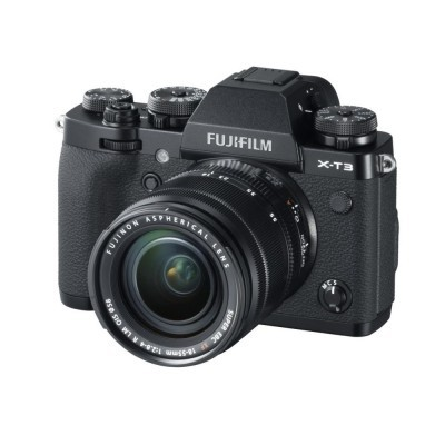 Fujifilm X-T3 Preta + 18-55mm f / 2.8-4.0 OIS