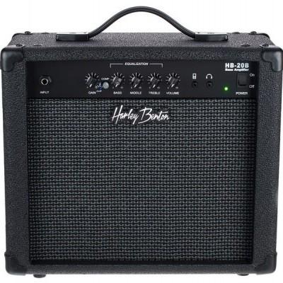Harley Benton PB-Shorty BK Standard Set 1