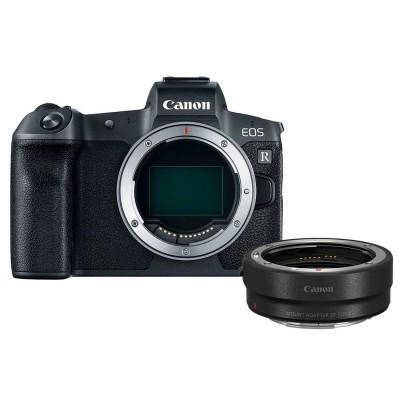 Canon EOS R  + EF-adapter