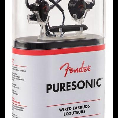 Fender PureSonic Auriculares com fio Preto