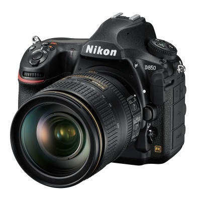 Nikon D850 DSLR + 24-120mm f/4.0G VR