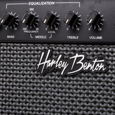 Harley Benton PB-Shorty LH BK Std. Set 2