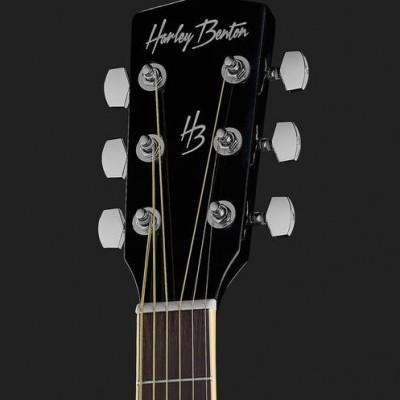Harley Benton D120BK Bundle English