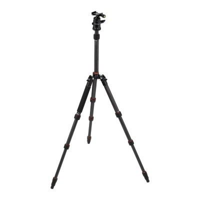 Rollei Fotopro Compact Traveller No. 1 statief Zwart