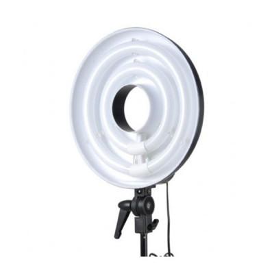 Conjunto de lâmpadas de anel de olhos de falcão RFL-3 com tripé