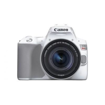 Canon EOS 250D DSLR Branco + 18-55 IS STM