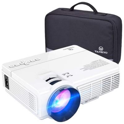 Mini projetor VANKYO LEISURE 3 de até 1080P 170 polegadas, 40.000 horas, compatível com Chromecast, TV Stick, PS4, USB