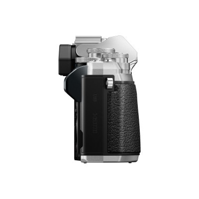 Olympus OM-D E-M10 Mark III Corpo Prata + 14-42mm + 40-150mm