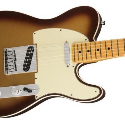 36/5000 Fender AM Ultra Tele MN Mocha Burst