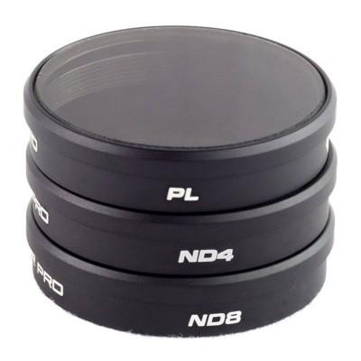 Pacote de 3 filtros Polar Pro DJI Phantom 4