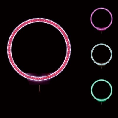 Yongnuo YN-608 RGB 3200-5500K LED anel lâmpada