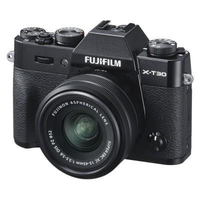 Fujifilm X-T30 Preta + Lente XC 15-45mm f / 3.5-5.6 OIS PZ