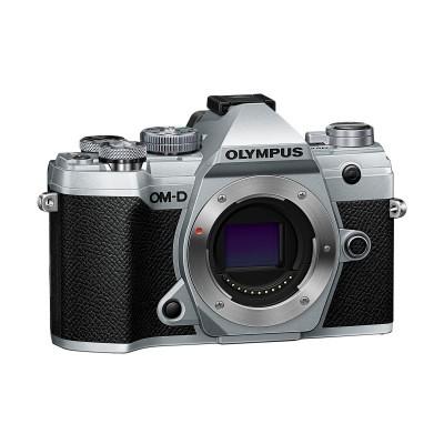 Olympus OM-D E-M5 Mark III Prata + 12-40mm Preto