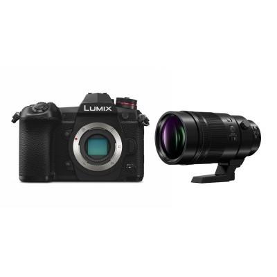 Panasonic Lumix DC-G9 Preta + Leica 200mm