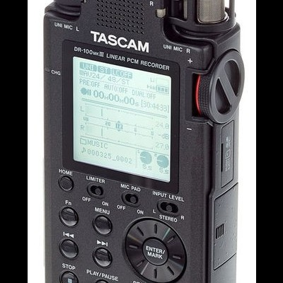 Tascam DR-100 MK3 Bag Bundle