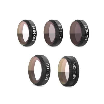 Conjunto de filtros Pgytech, filtro UV, ND e CPL para DJI Mavic Air