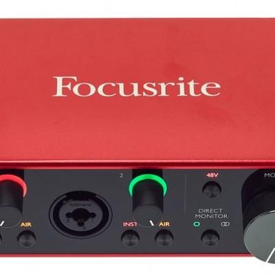 Focusrite Scarlett 2i2 Studio 3rd Gen