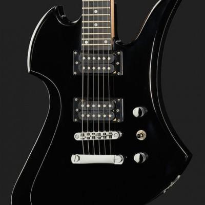 Harley Benton MB-20BK Rock Series