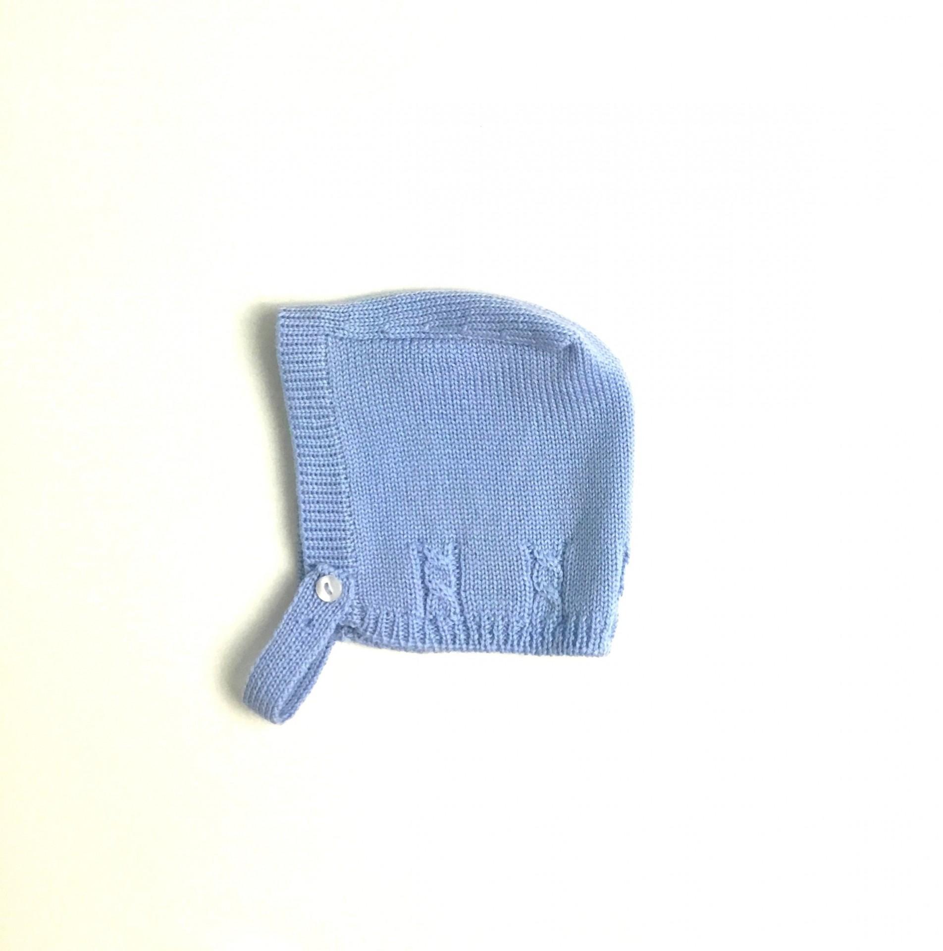 Touca lã botão