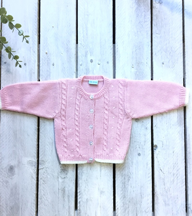 Casaco lã rosa Lisboa