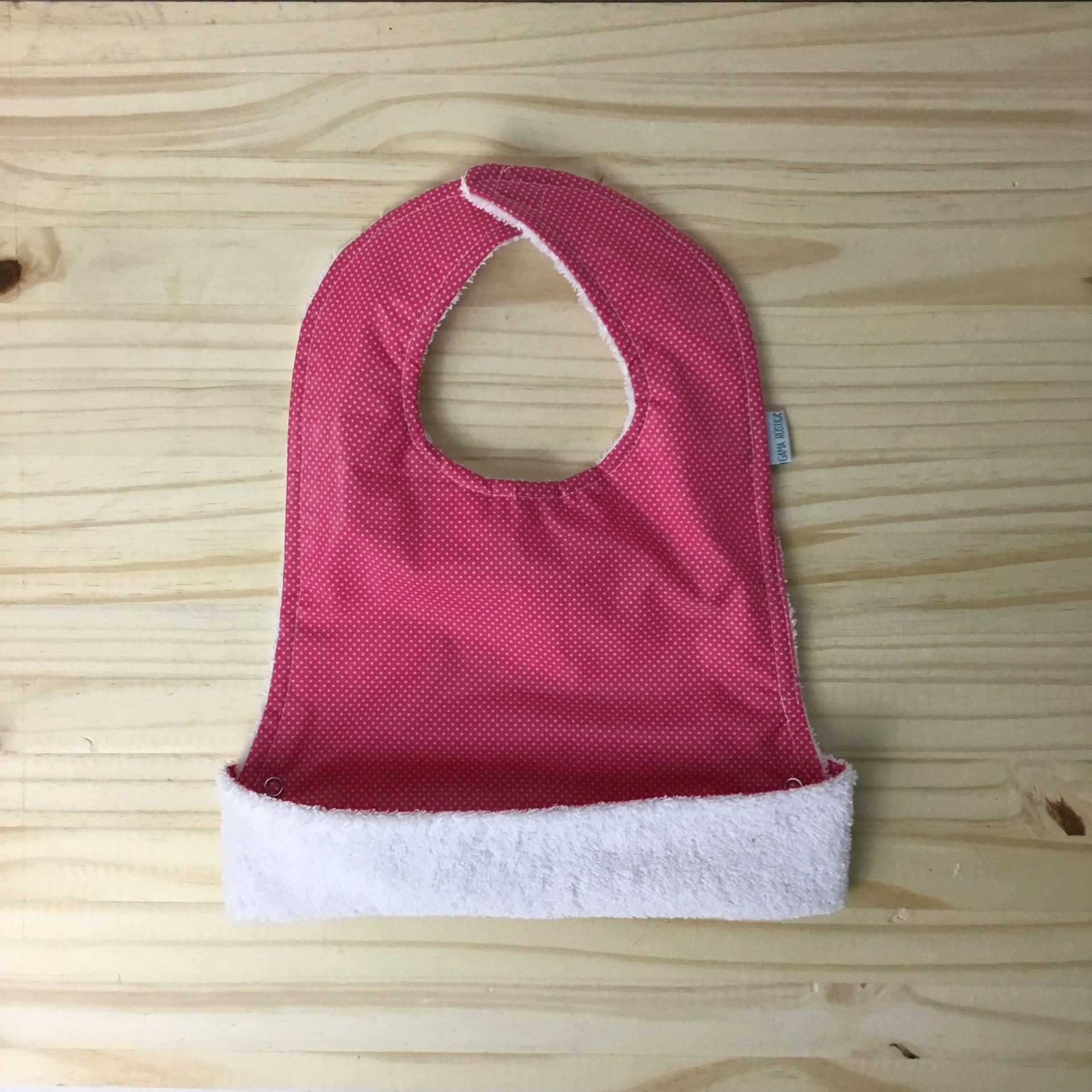 Babete tecido plastificado