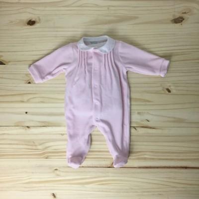 Babygrow rosa pintas