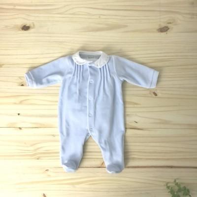 Babygrow azul pintas