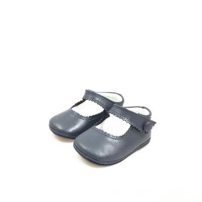 Sapato bebé botão