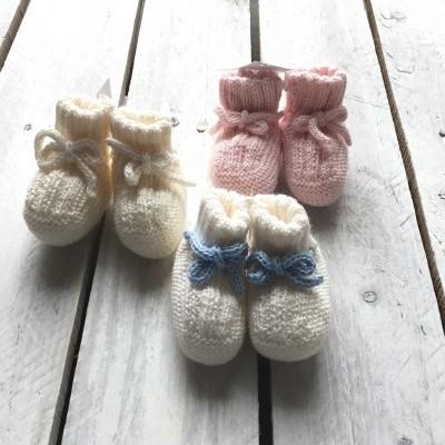 Botinhas bebé de inverno
