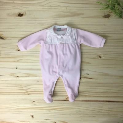 Babygrow rosa pregas