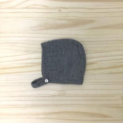 Touca lã cinza