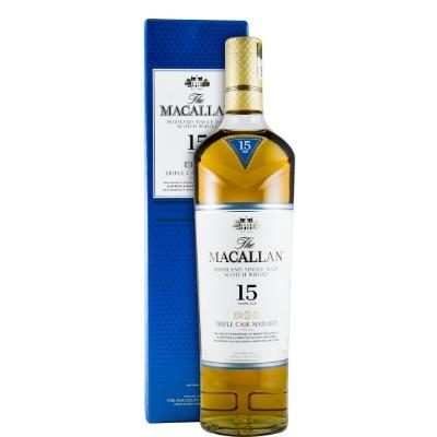 MACALLAN 15 ANOS TRIPLE CASK