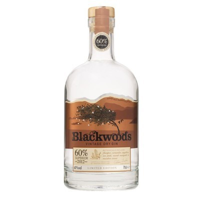 GIN BLACKWOODS VINTAGE SUPERIOR 60% 70CL