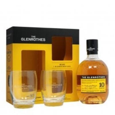 GLENROTHES 10 ANOS OFERTA 2 COPOS