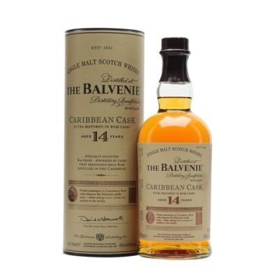 BALVENIE 14 ANOS CARIBBEAN CASK 70Cl