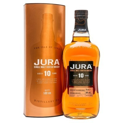 ISLE OF JURA 10 ANOS SINGLE MALT